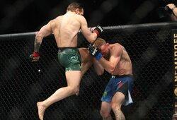 Medikų išvados: C.McGregorui pralaimėjęs D.Cerrone'as sulaukė ilgos diskvalifikacijos, tačiau turėtų sugrįžti greičiau