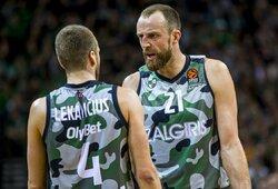 """Ketvirta nesėkmė iš eilės: """"Žalgiris"""" pralaimėjo trilerį """"Crvena Zvezda"""" klubui"""