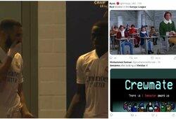 """K.Benzema liepė neperduoti kamuolio """"už priešus žaidžiančiam"""" Viniciui, """"Real"""" siūloma ruoštis Europos lygai"""