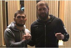 """A.Jemeljanenka pritaria R.Kadyrovui: """"Chabibas per karjerą turėjo vieną rimtą varžovą"""""""