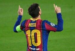 """""""Barcelonos"""" žvaigždė L.Messi Čempionų lygoje užfiksavo du rekordus"""