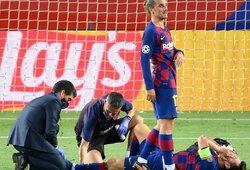 Po Čempionų lygos ketvirtfinalio L.Messi prireiks gydymo