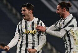 "A.Moratos dublis paženklintas ""Juventus"" pergale prieš ""Lazio"""