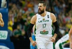 """J.Valančiūnui patiko """"Pelicans"""" vadovo žinutė po įvykusių mainų"""