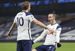 """G.Bale'as ir H.Kane'as pelnė po 2 įvarčius, o """"Tottenham"""" nušlavė """"Crystal Palace"""""""