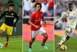 TOP-10: daugiausiai uždirbantys jaunieji futbolininkai