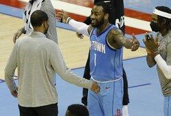 "Trys klubai susidomėjo J.Wallo situacija ""Rockets"" klube"