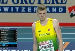 Šuolininkas į aukštį A.Glebauskas – Europos čempionato finale, S.Bertašius pasiekė geriausią Lietuvos sezono rezultatą