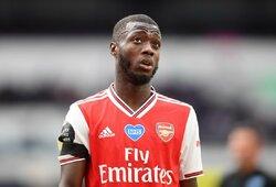 """79 mln. eurų už N.Pepe paklojęs """"Arsenal"""" pradeda vidinį tyrimą"""