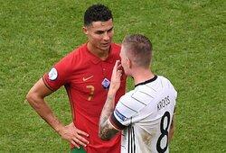 T.Kroosas atskleidė, apie ką kalbėjo su C.Ronaldo po rungtynių su Portugalija