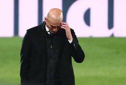 """Z.Zidane'o dienos suskaičiuotos: """"Real"""" pradėjo derybas su M.Pochettino?"""