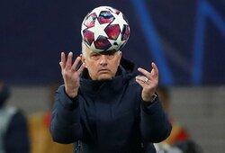 """J.Mourinho paskelbė savo buvusių auklėtinių simbolinę rinktinę – """"Man Utd"""" žaidėjams vietos neliko"""