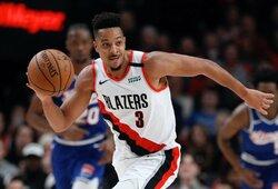 """Kodėl """"Trail Blazers"""" buvo vienintelė komanda, kuri balsavo prieš NBA sezono atnaujinimo planą?"""
