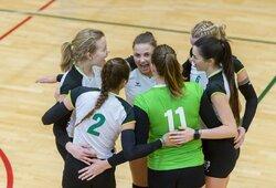 Lietuvos moterų tinklinio čempionate pergalėmis džiaugėsi lyderės