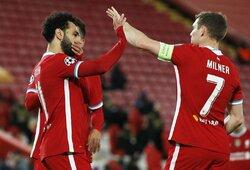 """Čempionų lyga: """"Liverpool"""" ir """"Man City"""" iškovojo pergales"""