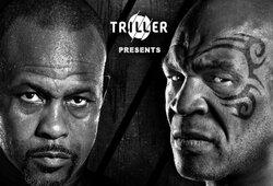Pirmoji akistata ir svėrimai: M.Tysonas susitinka su R.Jonesu (tiesioginė vaizdo transliacija)