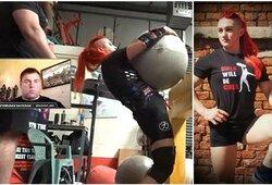 Ž.Savickas patvirtino dar vieną pasaulio rekordą: britė pakėlė įspūdingo svorio akmenį