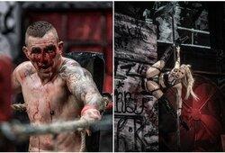 Vienoje keisčiausių Lenkijos kovinio sporto organizacijų – brutalus nokautas