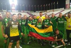 Fantastiškas Lietuvos žygis pasaulio čempionate tęsiasi – sutriuškinta Maroko rinktinė