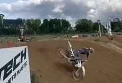 Pasirodė vaizdo įrašas iš siaubingos A.Jasikonio avarijos