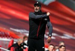 """J.Kloppas prabilo apie atsisveikinimą su """"Liverpool"""""""
