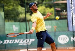 Vilniuje prasidėjo Lietuvos teniso čempionatas, atvyko ir L.Grigelis