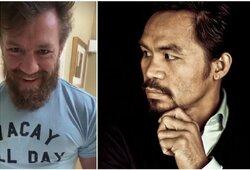 M.Pacquiao atstovai patvirtino: kova su C.McGregoru įvyks 2021 m.
