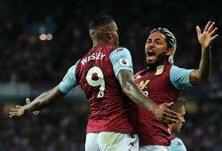 """Staigmena: pirmąją pergalę iškovojusi """"Aston Villa"""" patiesė """"Everton"""""""