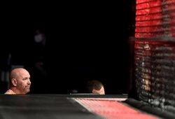 """UFC prezidento atsakas J.Masvidaliui ir kitiems, reikalaujantiems didesnių pinigų: """"Niekas neverčia jūsų kovoti"""""""