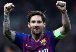 """""""Barcelona"""" nutraukė tylą dėl L.Messi: """"Norime kurti komandą aplink svarbiausią žaidėją pasaulyje"""""""