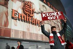 """""""Arsenal"""" savininkas atsisakė parduoti klubą """"Spotify"""" vadovui už 2,5 mlrd. JAV dolerių"""