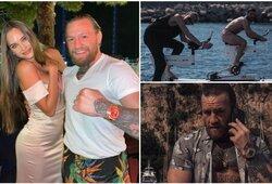 Pamirškite kovinį sportą: olimpinę čempionę sutikęs C.McGregoras priėmė princesės iššūkį