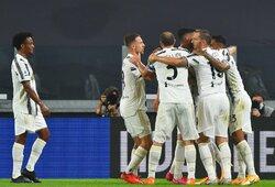 """C.Ronaldo pelnė įvartį, o """"Juventus"""" pergalingai startavo """"Serie A"""" lygoje"""