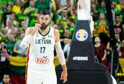 Lietuva – stipriausiame olimpinių žaidynių atrankos krepšelyje