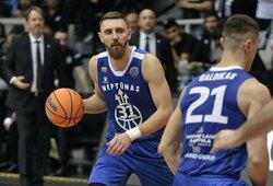 """FIBA Čempionų lygoje D.Gailiaus vedamas """"Neptūnas"""" pralaimėjo """"gyvenk arba mirk"""" rungtynes"""