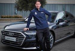 """Madrido """"Real"""" garažas: brangiausią """"Audi"""" vairuoja S.Ramosas, pigiausią – Z.Zidane'as"""
