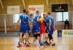 Lietuvos vyrų tinklinio čempionate – setas su 80 taškų