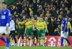 """Anglijoje – neįskaitytas """"Leicester City"""" įvartis ir """"Norwich City"""" pergalė"""