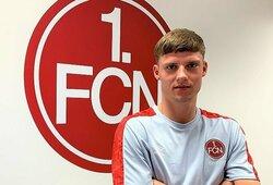 """B.Šatkus pasirašė profesionalų kontraktą su """"Nurnberg"""""""