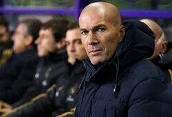 """Z.Zidane'as apie """"Real"""" sugrįžimą į """"La Ligos"""" viršūnę: """"Niekas nepasikeitė"""""""