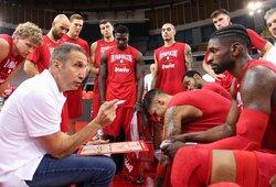 """""""Olympiacos"""" komandoje debiutavęs M.Kuzminskas žaidė naudingai, bet pergalės tai neatnešė"""