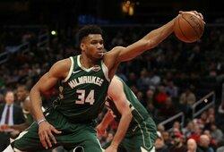 NBA lyderė uždarė treniruočių bazę