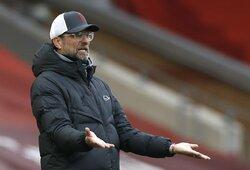 """J.Kloppas įvardijo pagrindinę stringančio """"Liverpool"""" problemą"""