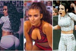 Jokių papildomų pajamų: pikantiškas nuotraukas pardavinėjusi imtynininkė išmesta iš WWE