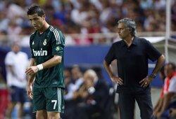 """L.Modričius prisiminė kaip C.Ronaldo vos nesusimušė su J.Mourinho: """"Cristiano akyse kaupėsi ašaros"""""""