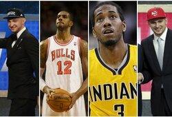 Paralelinis pasaulis: kaip atrodytų kiekvieno NBA klubo starto penketas, sudarytas tik iš jo pašauktų žaidėjų?