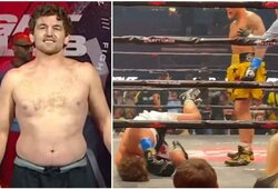 """UFC kovotojo verdiktas: """"B.Askrenui buvo sumokėta, kad jis pasiduotų"""""""