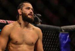 """Prasidėjo derybos dėl K.Usmano ir J.Masvidalio kovos """"UFC 251"""" turnyre"""
