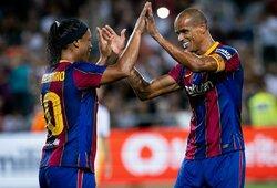 """Legendų mače spindėjo Ronaldinho, bet """"Real"""" nugalėjo """"Barceloną"""""""
