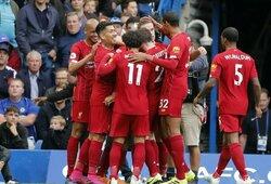 """""""Liverpool"""" ir toliau neklysta: """"Chelsea"""" šturmą atlaikę """"raudonieji"""" iškovojo šeštąją pergalę"""